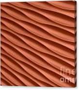 Orange Artistic Background Canvas Print