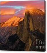 Orange Half Dome Canvas Print