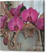 Orchards Blooming Infront Of Mirror Canvas Print