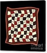 Order Nine Magic Square Puzzle Canvas Print