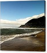 Oregon Beach Canvas Print
