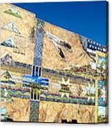 Oregon History Mural 2 Canvas Print