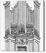 Organ, 1760 Canvas Print