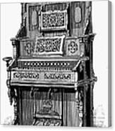 Organ, 19th Century Canvas Print