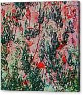 Oriental Brush Work Canvas Print