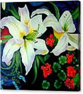 Oriental Lily Canvas Print