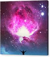 Orion Nebula Awestruck Canvas Print