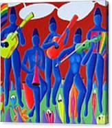Orkestra Canvas Print