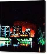 Orlando In Black Light Canvas Print