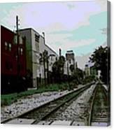 Orlando Tracks Canvas Print