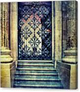 Ornate Entrance Gate Canvas Print