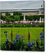 Orsay From The Tuileries Canvas Print