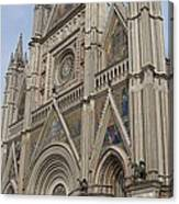Orvieto Cathedral Canvas Print
