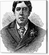 Oscar Wilde (1854-1900) Canvas Print