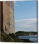 Oslo Castle And Harbor Canvas Print