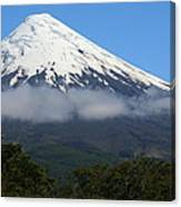 Osorno Volcano Ringed By Clouds Canvas Print