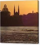 Ottawa By Night 5 Canvas Print