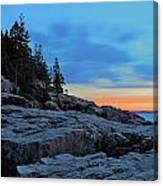 Otter Point At Dawn Canvas Print