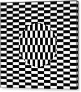 Ouchi Illusion Canvas Print