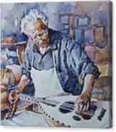 Oud Maker Canvas Print