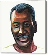 Oumar Souleymane Cisse Canvas Print