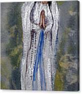 Our Lady Of Lourdes 2 Canvas Print