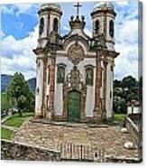 Ouro Preto Church Canvas Print