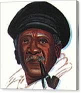 Ousmane Sembene Canvas Print