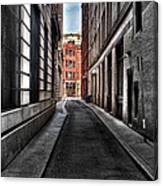 Out Of The Alley Canvas Print