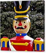 Outdoor Toy Soldier Canvas Print