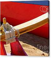 Outrigger Rigging - 2 Canvas Print