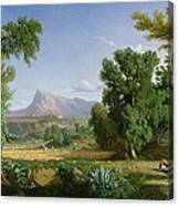 Outskirts Of Valdemusa Canvas Print