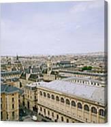 Looking Over Paris Canvas Print