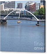 Over The Yarra Canvas Print
