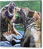 Overbearing Canvas Print