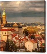 Overlook Prague Canvas Print