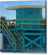 Overlook The Beach Canvas Print