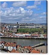 Overlooking Whitby Canvas Print