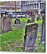 Oxford England Graveyard Canvas Print