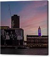 Oxo Tower And Royal Family Canvas Print