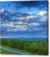 Ozark Pasture At Dusk Canvas Print