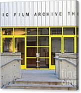 Pacific Film Archive Theater . Uc Berkeley . 7d10200 Canvas Print