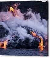Pacific Lava Flow II Canvas Print