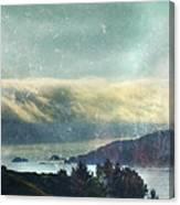 Pacific Ocean Fog Bank  Canvas Print