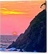 Pacific Sunset Canvas Print