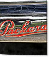 Packard Name Plate Canvas Print