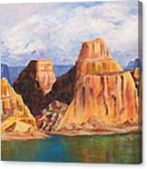 Padre Bay Lake Powell Canvas Print