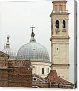 Padua Domes Padua Italy Canvas Print