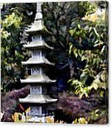 Pagoda Tower Of Zen Canvas Print