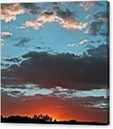 Pagosa Springs Colorado Sunset Canvas Print